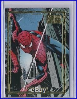 2014 Marvel 75th Anniversary Universe 2 Divas 2 complete Gold /75 set (75 cards)