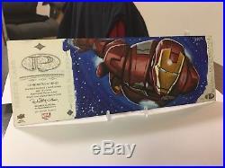 2014 Marvel Premier Sketch Card Quad Panel Punisher Iron Man David Day Autograph