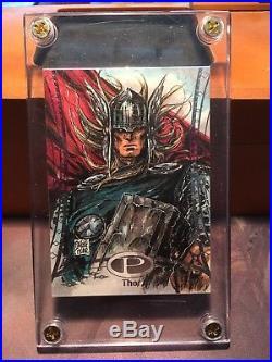 2014 Marvel Premier Thor Sketch By Melile Acar