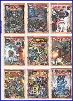 2014 Near Set Of Marvel Guardians Galaxy Classic Cover Autographs 20 Cards