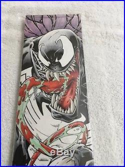 2014 Upper Deck Marvel Premier Quad Of Venom By Chris Cabbie