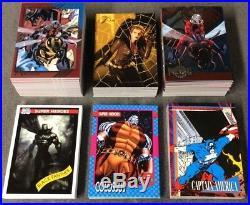2015-Fleer-Marvel-Retro-Base-Set-5-Insert-Sets-192-Cards MINT NEAR MINT