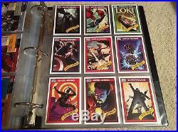 2015 Fleer Marvel Retro Complete Set Holoblast Flair Power Blast 1982 +++