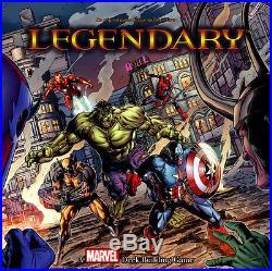 2015 Marvel 3D Legendary 95-Card Playable Set + 2 Stan Lee Bystander Bonus Cards