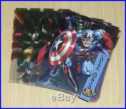 2015 Marvel Fleer Retro 1994 Fleer Suspended Animation 42-card set w variants SP