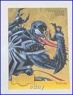2015 Marvel Retro Venom GOLD Precious Metal Gems 1/1 PMG