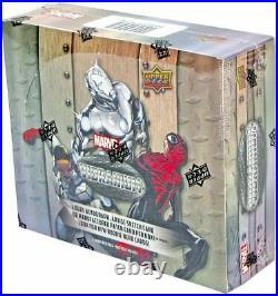 2015 UD Marvel Vibranium Hobby Box Trading Cards SEALED