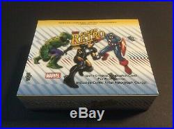 2015 Upper Deck Fleer Retro Marvel Master Hobby Box Factory Sealed