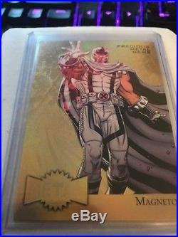 2015 fleer marvel retro Magneto PMG GOLD 1/1