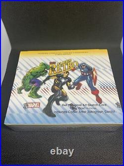 2015 upper deck fleer retro marvel trading card sealed hobby box