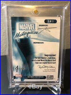 2016/2018 Marvel Masterpieces Sketch Venom/Hulk VS Spider-Man Basio Awesome