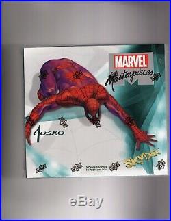 2016 & 2018 Upper Deck Marvel Masterpieces J. Jusko & S. Bianchi sealed Boxes