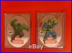 2016 Marvel Annual Ud Sealed Hobby Case Ud 12 Box Case Bonus Hits Hulk Thanos Ht