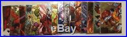 2016 Marvel Masterpieces Base Gold What If Canvas Holo Battle Achievement Sets