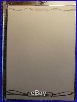 2016 Marvel Masterpieces Blank Sketch Card Non AP Very Rare
