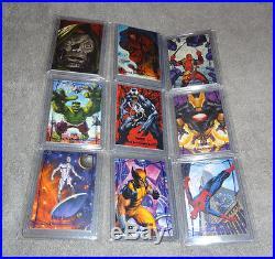 2016 Marvel Masterpieces Epic Purple Full Set 1-90 Jusko
