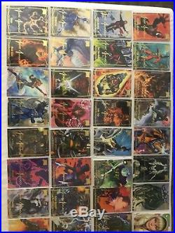 2016 Marvel Masterpieces Gold Signature Set 1-81