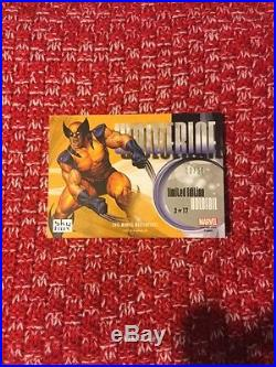 2016 Marvel Masterpieces Holofoil Kaleidoscope Wolverine 2 02/25