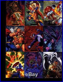 2016 Marvel Masterpieces Joe Jusko 285 card Master set no high number