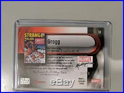 2016 Marvel Masterpieces Joe Jusko Auto Lot What If Autograph Grogg Captain quic
