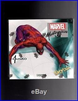 2016 Marvel Masterpieces Joe Jusko Factory sealed Box