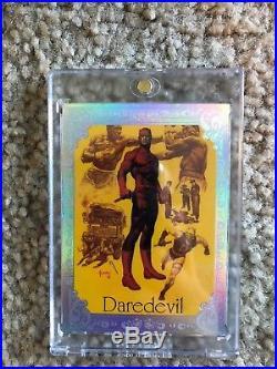 2016 Marvel Masterpieces Joe Jusko Red Foil Gallery Daredevil 01/25 NM/M