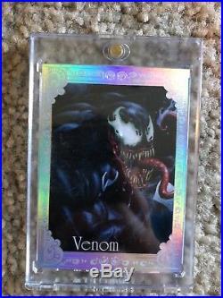 2016 Marvel Masterpieces Joe Jusko Red Foil Gallery Venom 09/25 NM/M