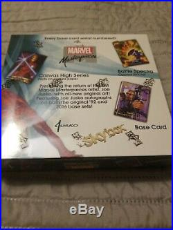 2016 Marvel Masterpieces Joe Jusko Unopened Box