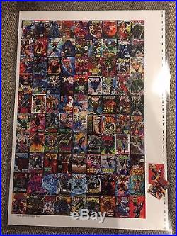 2016 Marvel Masterpieces REDEMPTION WHAT IF 1-90 Set Uncut Sheet Holy Grail