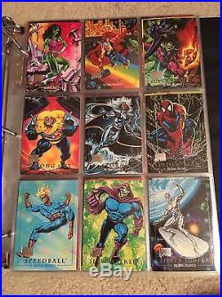 2016 Marvel Masterpieces Stamped Buyback 1992 NEAR SET Lot 96 Cards Joe Jusko