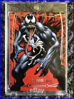 2016 Marvel Masterpieces Venom (#86) Joe Jusko BASE CARD (29/99)