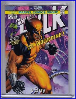 2016 Marvel Masterpieces What If #89 WOLVERINE #42/50 True High No. NM VHTF