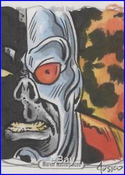 2016 UD Marvel Masterpieces'Deathlok' Joe Jusko Sketch Card