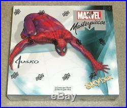 2016 Upper Deck Marvel Masterpieces Joe Jusko sealed 12-box CASE