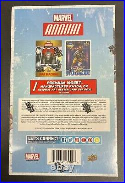 2016 Upper Deck UD Marvel Annual Hobby Box Trading Cards 20 Packs 5 Cards