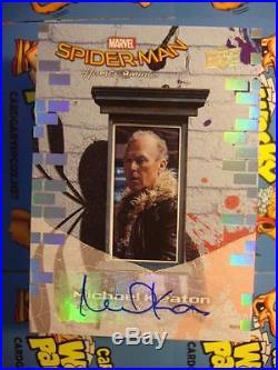 2017 MARVEL SPIDERMAN HOMECOMING AUTOGRAPH AUTO CARD SS17 Michael Keaton Vulture