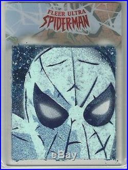 2017 Marvel Fleer Ultra Spider-Man Plexiglass Sketch Card Jason Adams