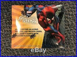 2017 Marvel Fleer Ultra Spiderman Factory Sealed Hobby Box
