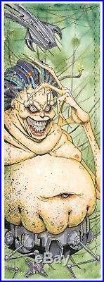 2017 Marvel Premier 4 Panel MOJO Sketch Card by Kenneth Hutch Hutcheson