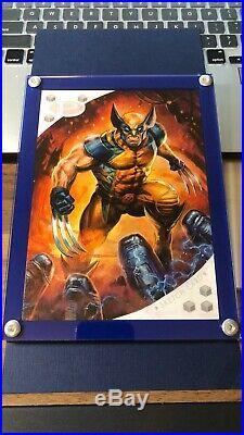 2017 Marvel Premier 5x7 Fabian Quintero SKETCH Wolverine 1/1 Amazing