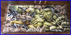 2017 Marvel Premier Anthony Tan Sketch 1/1 Wolverine Vs Hulk
