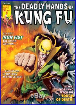2017 Marvel Premier Oversized 5x7 STUNNING Iron Fist Sketch by Bob Larkin