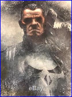 2017 Marvel Premier Punisher Mick & Matt Glebe 5x7 Topper Sketch Card 1/1