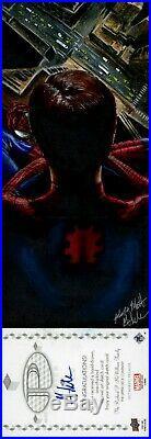 2017 Marvel Premier QUAD Sketch Card MICK & MATT GLEBE SPIDER-MAN