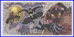 2017 Marvel Premier Triple-Panel Sketch Spider-Man by Stephen Sharar
