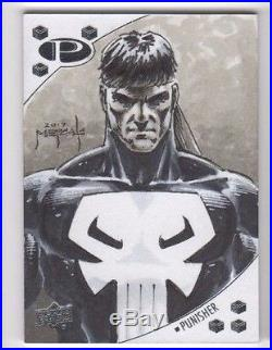 2017 Marvel Premier sketch Jason Metcalf