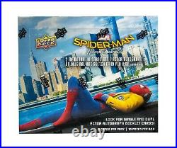 2017 UD Marvel Spider-Man Homecoming Hobby Box Trading Cards SEALED