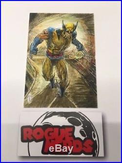 2017 Upper Deck Marvel Premier Wolverine Sketch Card- Artist Theo Lee
