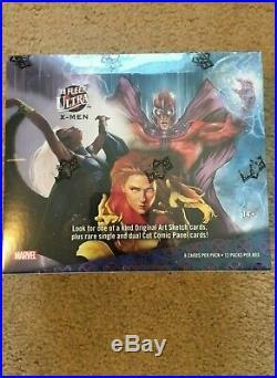 2018 Fleer Ultra Marvel X-Men Trading Cards Factory Sealed Hobby Box, Upper Deck