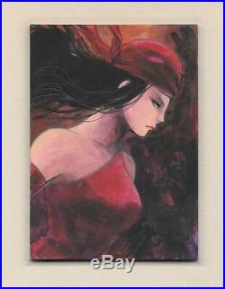 2018 Marvel Masterpieces 1/1 Sketch Elektra by Lydi Li Tubillara Autograph